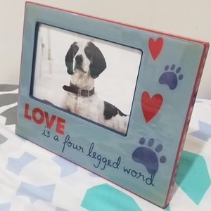 Doggy picture frame